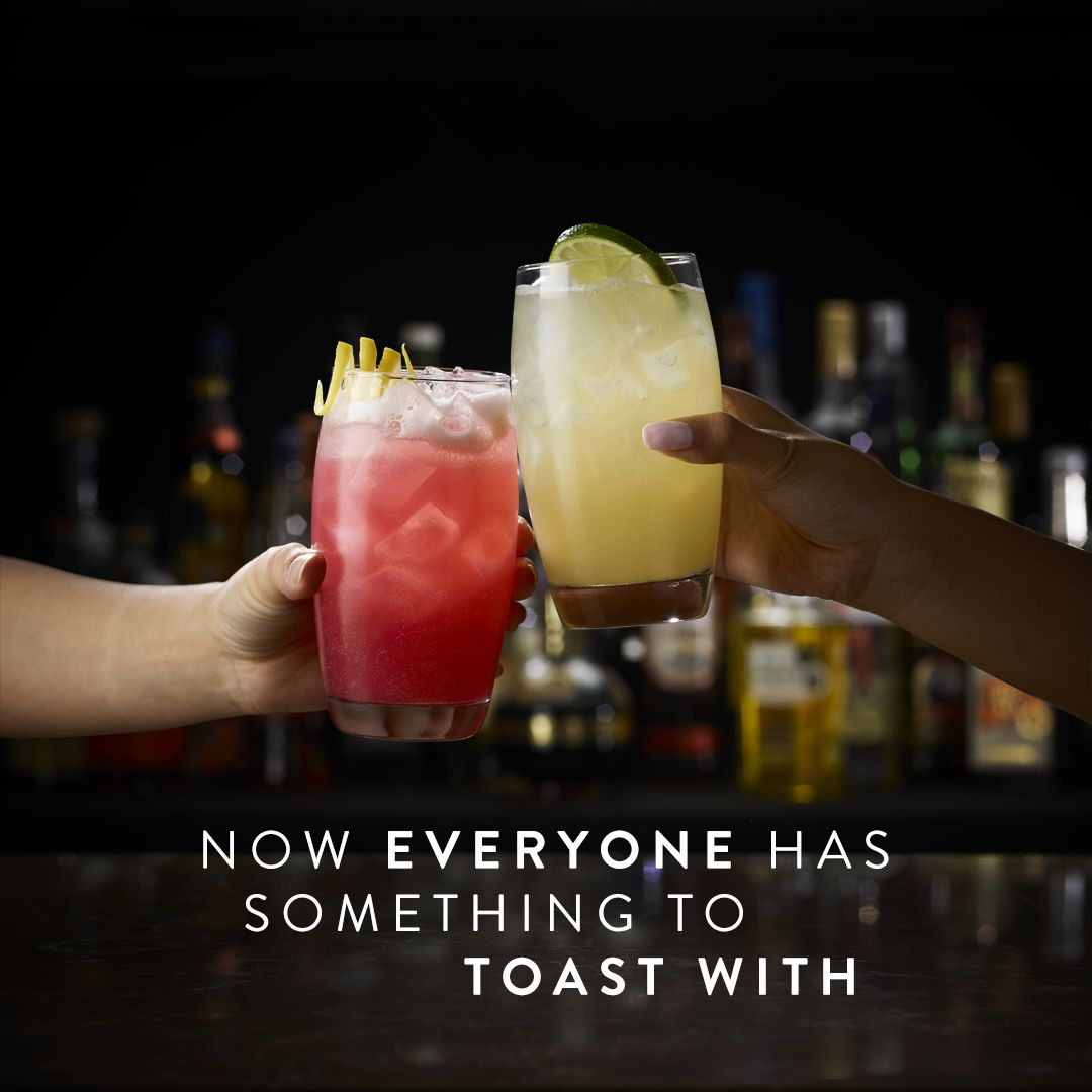 Now everyone has something to toast with.